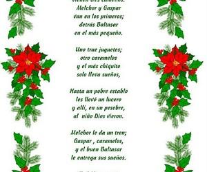 christmas, navidad, and poesía image
