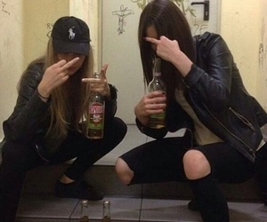 aesthetic, alcohol, and black image