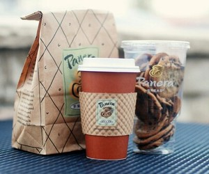 food, coffee, and Cookies image