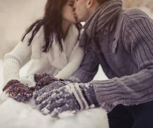 cold, together, and couple image