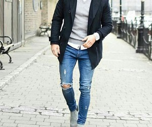 chic, fashion, and guys image