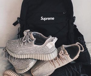 backpack, shoes, and style image