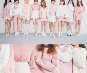 pink, fashion, and korean fashion image