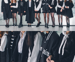 fashion, black, and korean fashion image