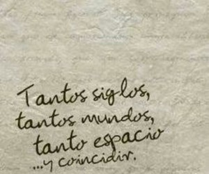 love, frases, and coincidir image