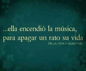 music, vida, and frases image
