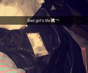 bad girl, blanche, and cocaine image