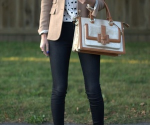 bag, outfits, and clothes image