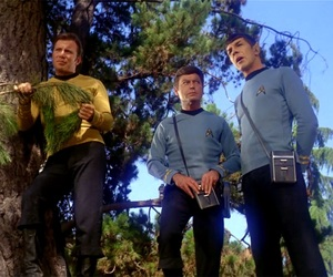 leonard nimoy, spock, and star trek image