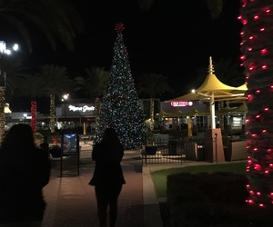 christmas, girls, and lights image