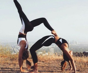 fitness, fit, and friends image