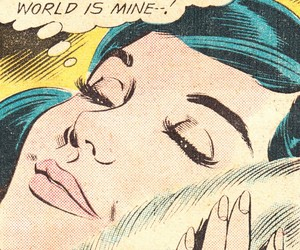 comic, vintage, and aesthetic image