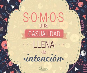 frases, love, and casualidad image