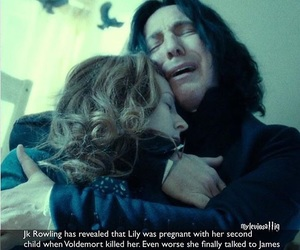 harry potter, hp, and severus snape image