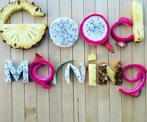 good morning, fruit, and food image
