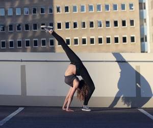 backbend, ballerina, and ballet image