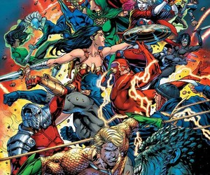 dc comic and super herois image