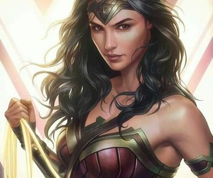 mulher maravilha, super herois, and dc comic image