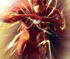 the flash, super herois, and dc comic image