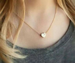heart, jewelry, and necklace image