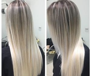 balayage and hairtie and die image