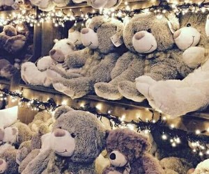 christmas, teddy bear, and bear image