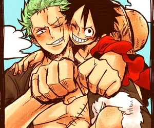 one piece and monkey d. luffy image