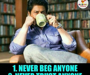 thought, self respect, and shahrukh image