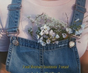 1980, aesthetic, and flowers image