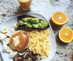 fitness, food, and orange image