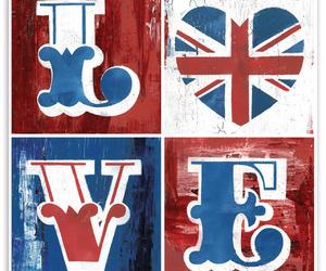 love, uk, and british image