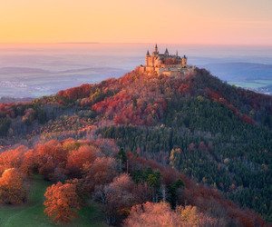 beauty, castle, and visit image