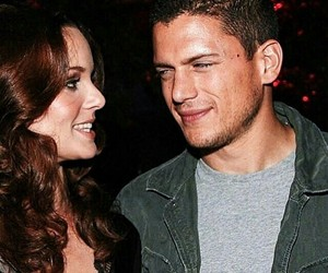 prison break, wentworth miller, and sarah wayne callies image