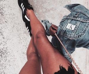 fashion, adidas, and legs image