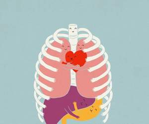 hug and heart image