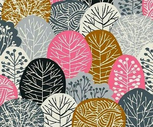 wallpaper, pattern, and tree image