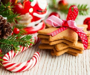 christmas, snack, and treats image