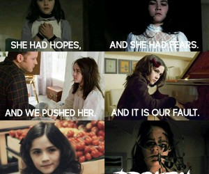 actress, horror, and orphan image