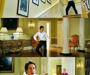 hugh grant, love actually, and dance image