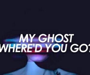 ghost, halsey, and Lyrics image