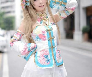 cosplay, girl, and cute image