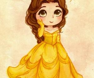 princess, disney, and belle image