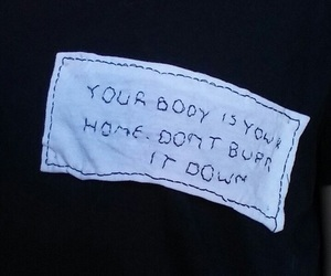 quotes, grunge, and body image