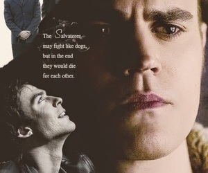 the vampire diaries, damon, and stefan image