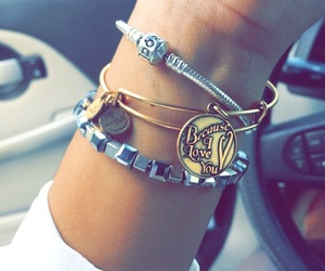 gift, alex and ani, and love image