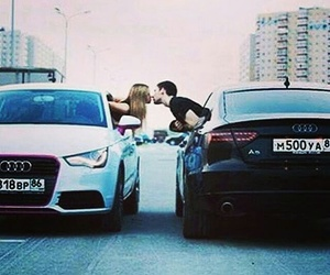 love, car, and audi image