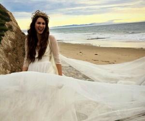 troian bellisario, wedding, and pll image