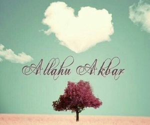 allah, cloud, and heart image