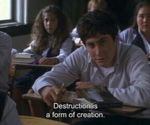 donnie darko, quotes, and destruction image