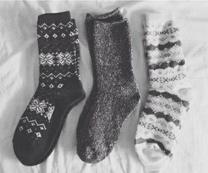 socks, winter, and christmas image
